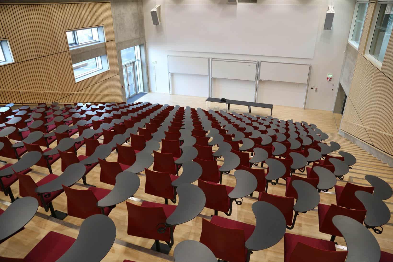 FOURDESIGN FOURSURE chaise auditorium pivotante, mécanisme avec