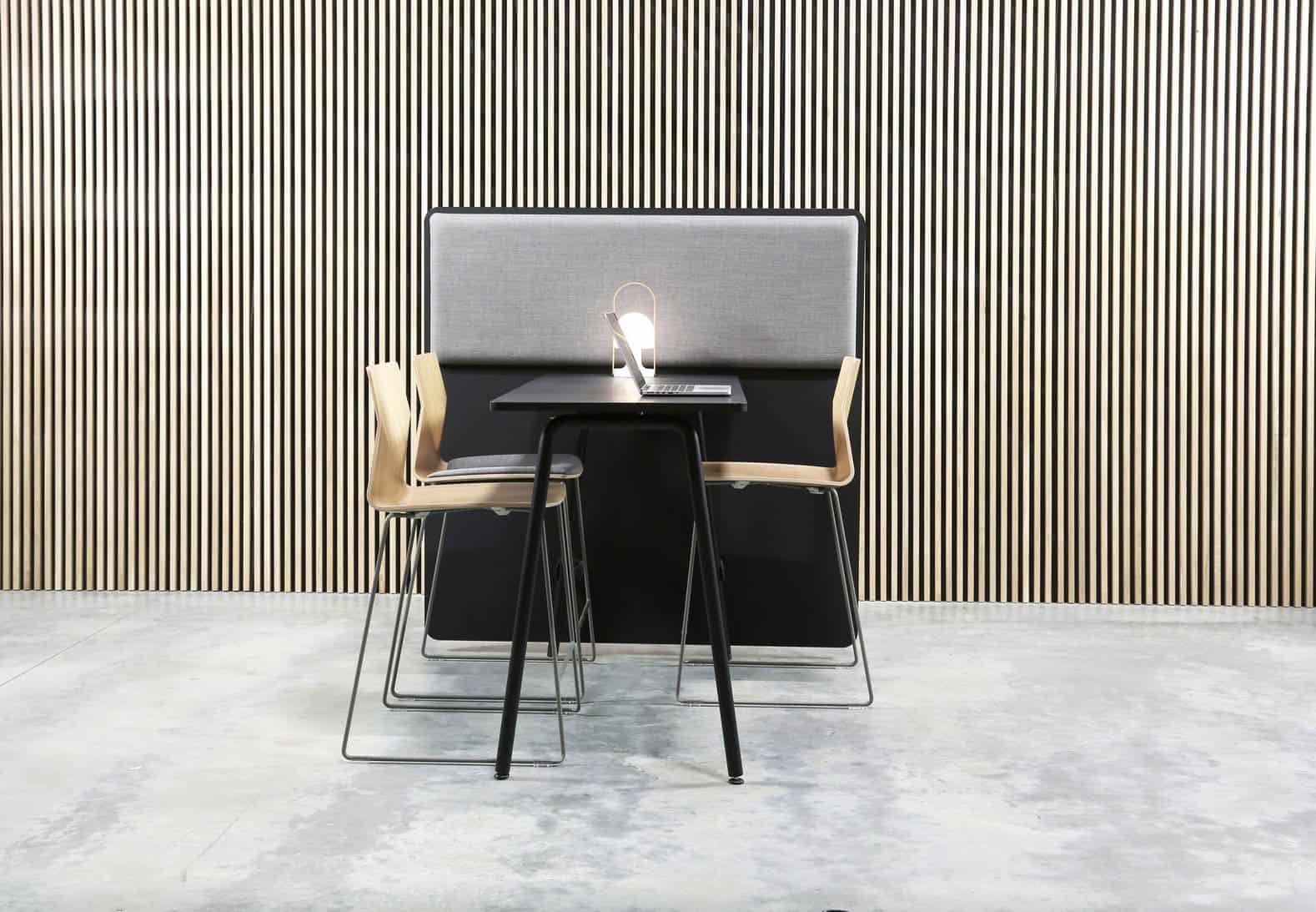 FOURDEIGN FOUR REAL 90, table polyvalente hauteur 90 avec pannea