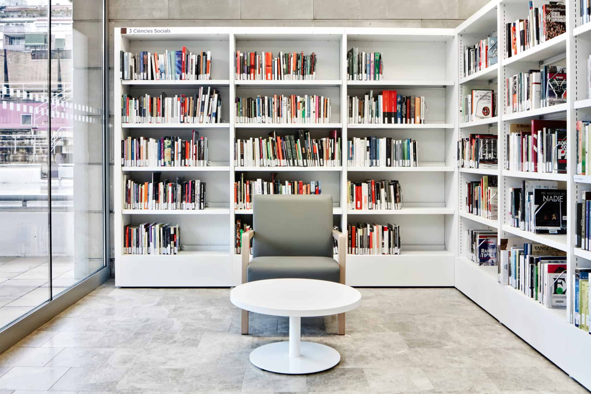 METALUNDIA CS bibliothèque modulable