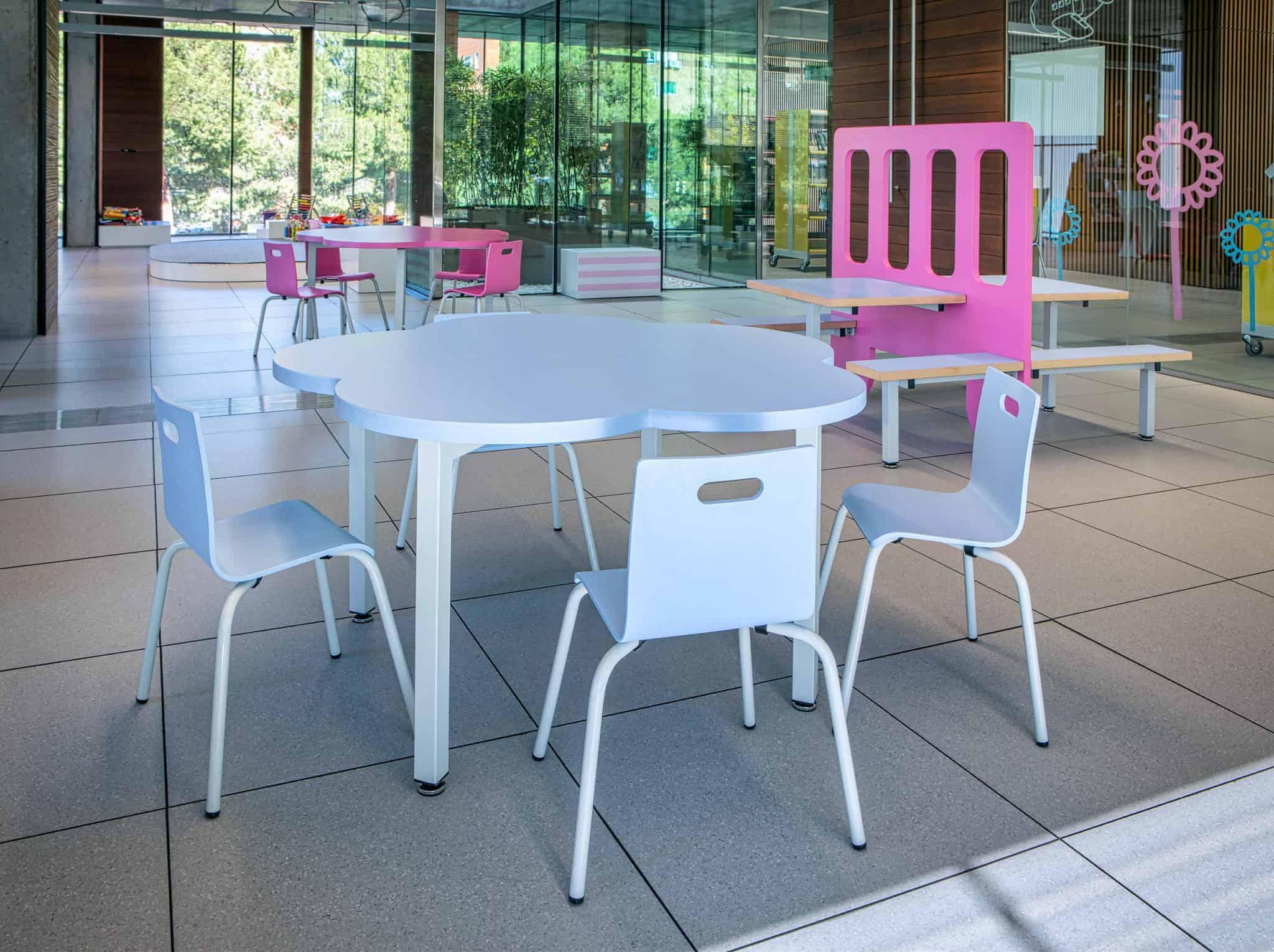 METALUNDIA table pour enfants