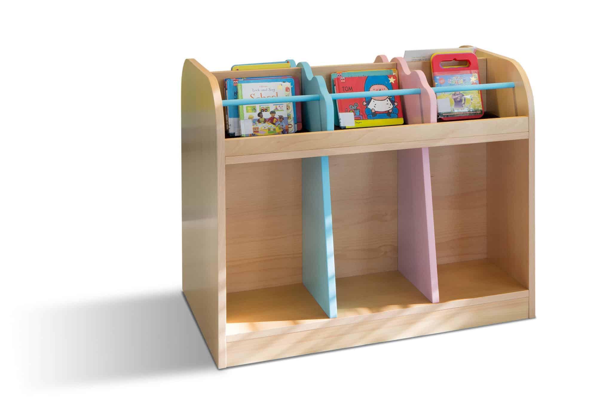 METALUNDI meuble porte livre pour enfants, adapté a leurs taill