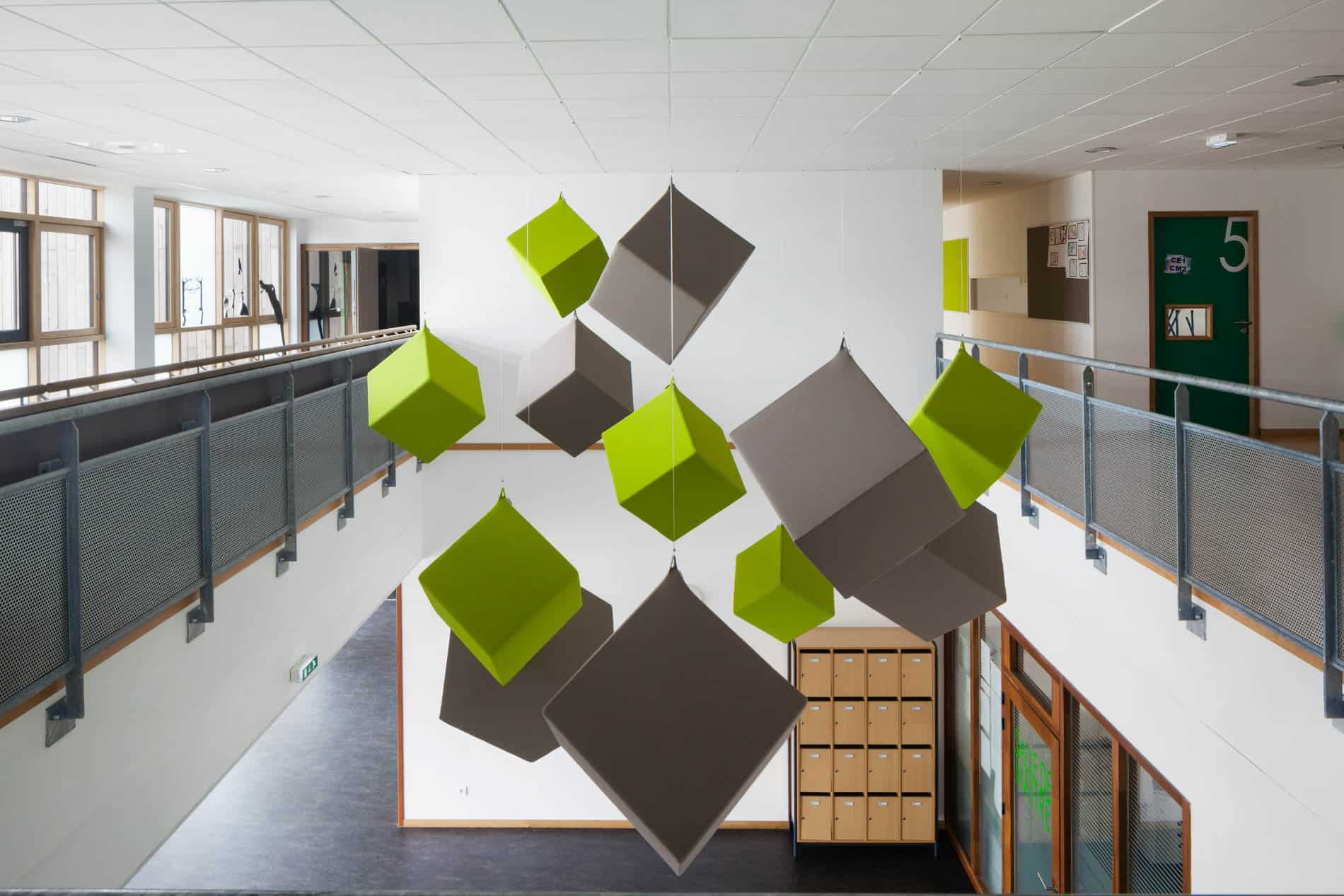 Texaa  Cubes Abso école Aimé Césaire Martignas-sur-Jalle  Arc