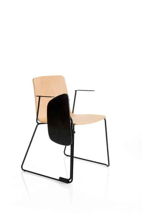 EMMEGI YO SCHOOL chaise conférence avec tablette