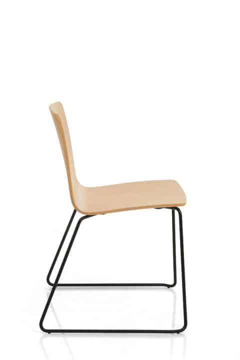 EMMEGI YO chaise bois empilables