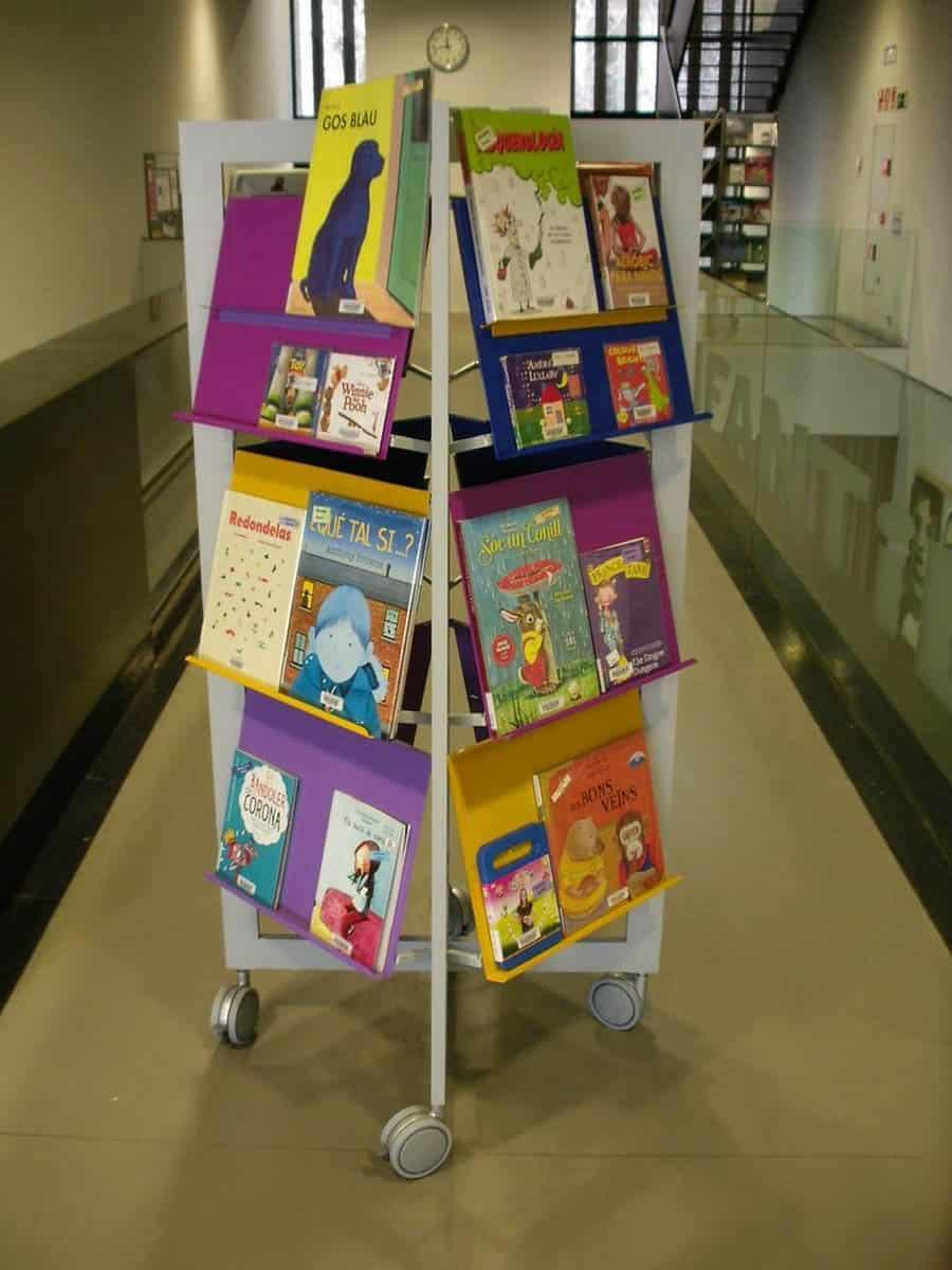 METALUNDIA LORCA présentoir à livres pour enfants