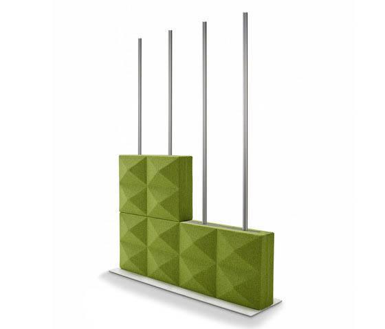 fourdesign fabricks brique acoustique séparateurs d'espace