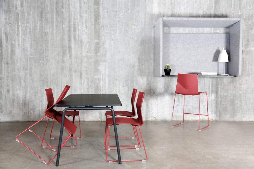 FOURDESIGN FOUR CAST2 chaise haute pour restauration