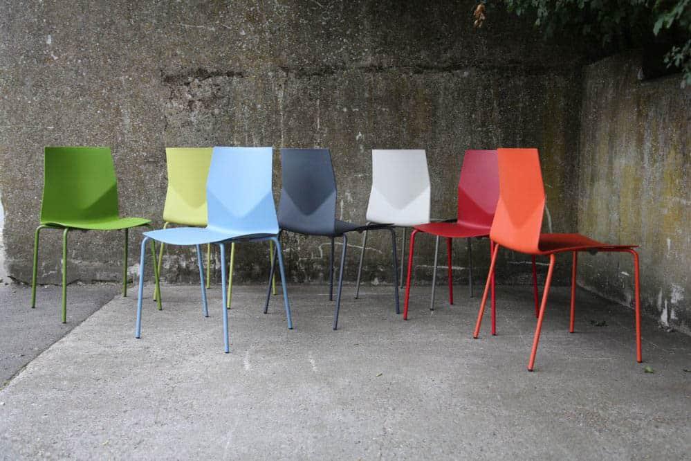FOURDESIGN FOURCAST2  chaises coque polypropylene
