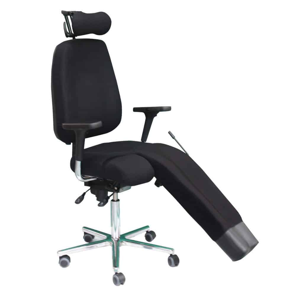 KHOL ADOUR avec repose jambe siege ergonomic environnement médi