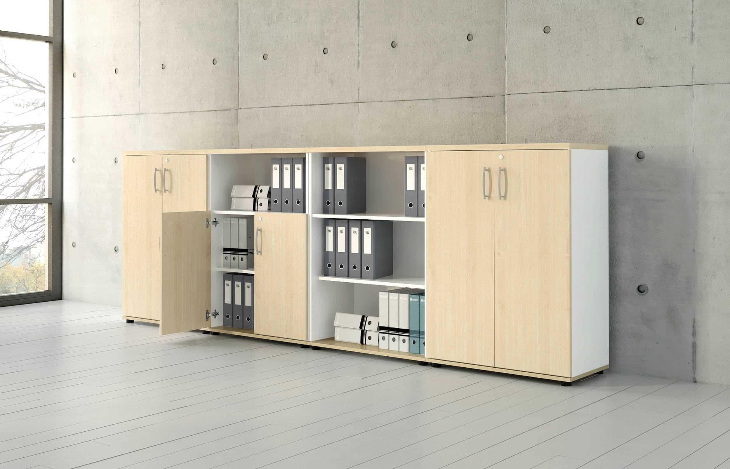 mdd armoire semi haute étagère