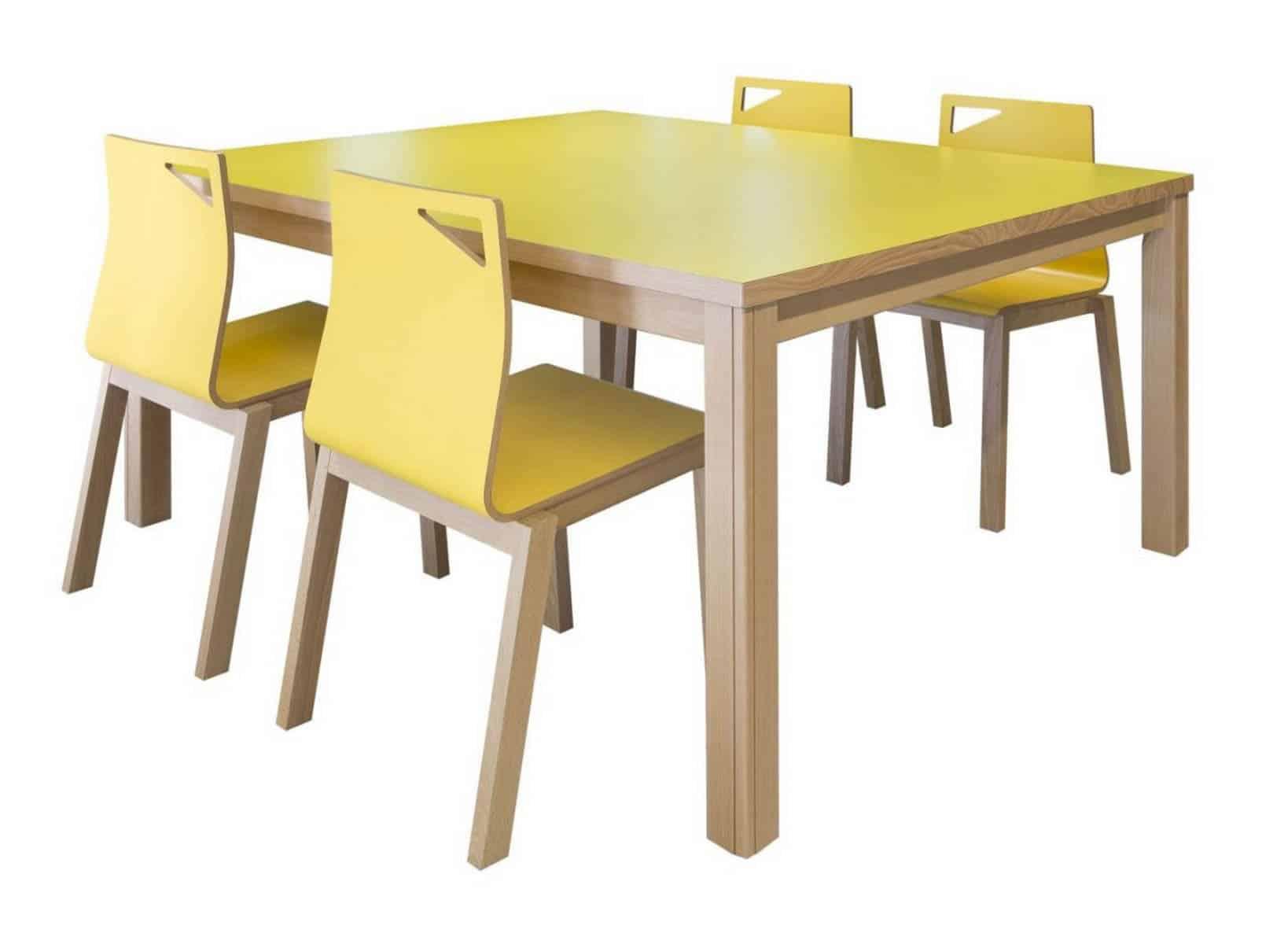 METALUNDIA BRECHT Une table qui apporte une touche chaleureuse e