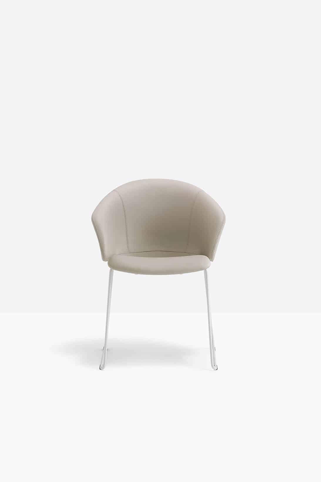 PEDRALI GRACE 413 fauteuil attente recouverte de tissu