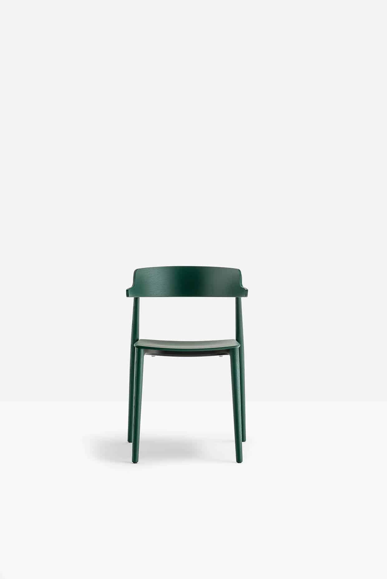 PEDRALI NEMEA 2825 chaise bois , attente, réunion,restauration