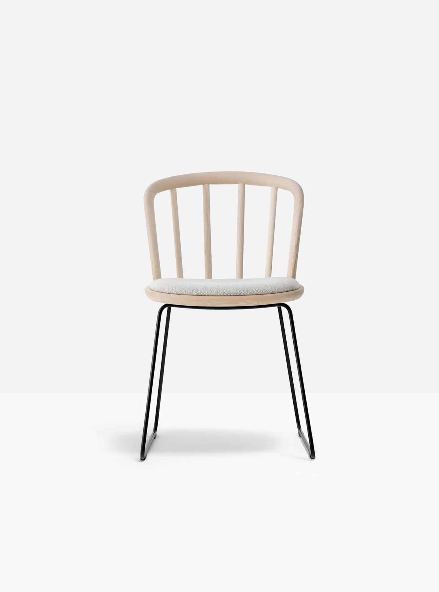PEDRALI NYM 2851 chaise placet tissu