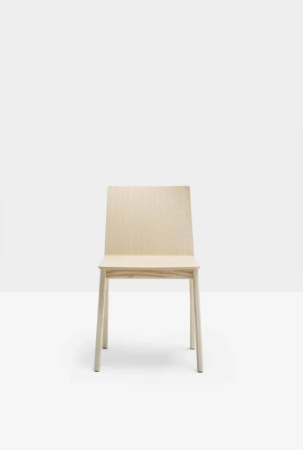PEDRALI OSAKA 2810 chaise bois attente,réunion