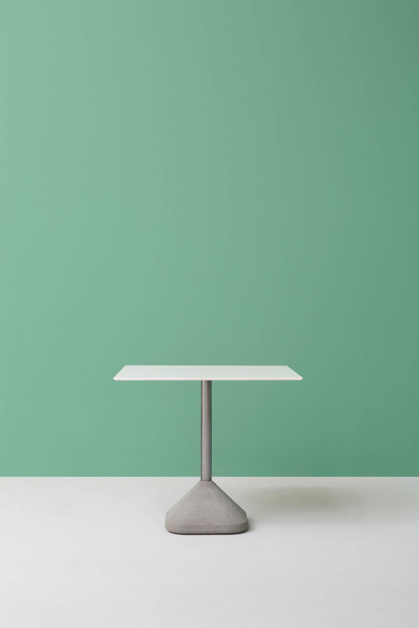 PEDRALI CONCRETE 855 table restauration