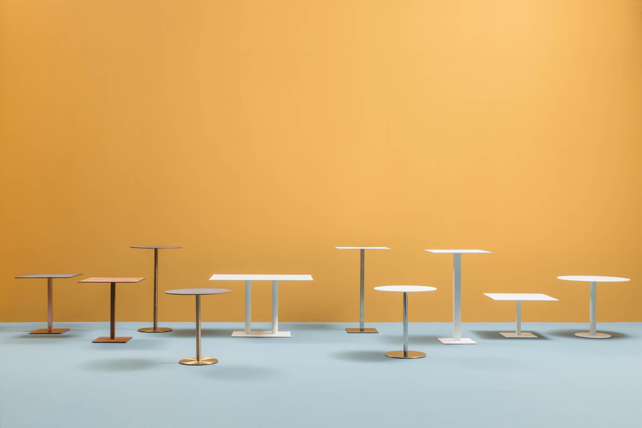 PEDRALI INOX table restauration