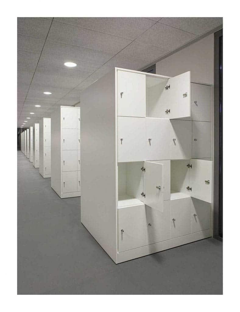 METALUNDIA L'utilisation de casiers  facilite le contrôle de to