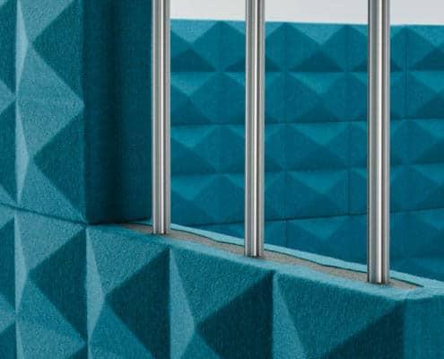 fourdesign fabricks brique acoustique tissu de chez camira, gabr
