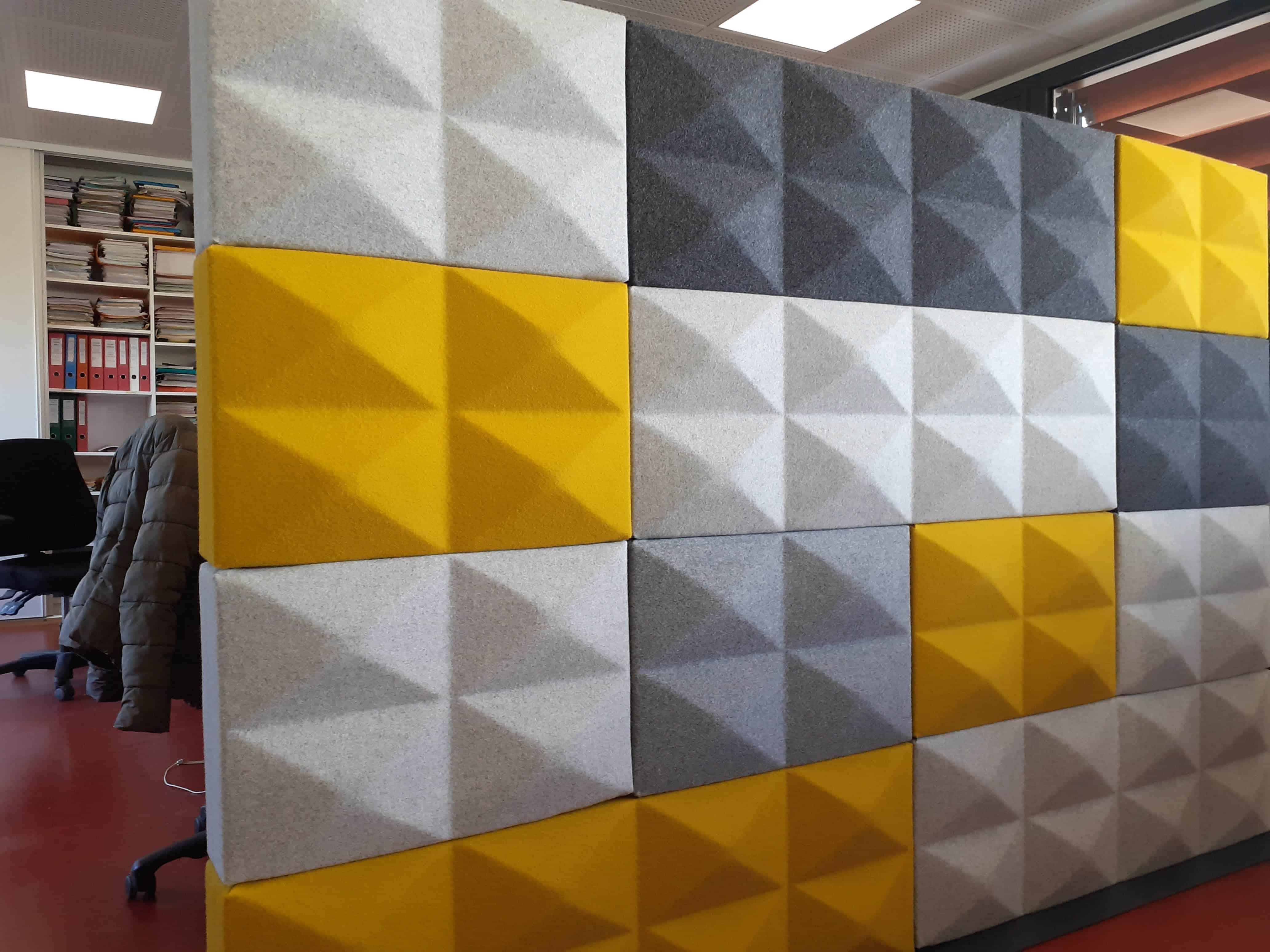 Cloison acoustique Fabricks  de chez FourDesign