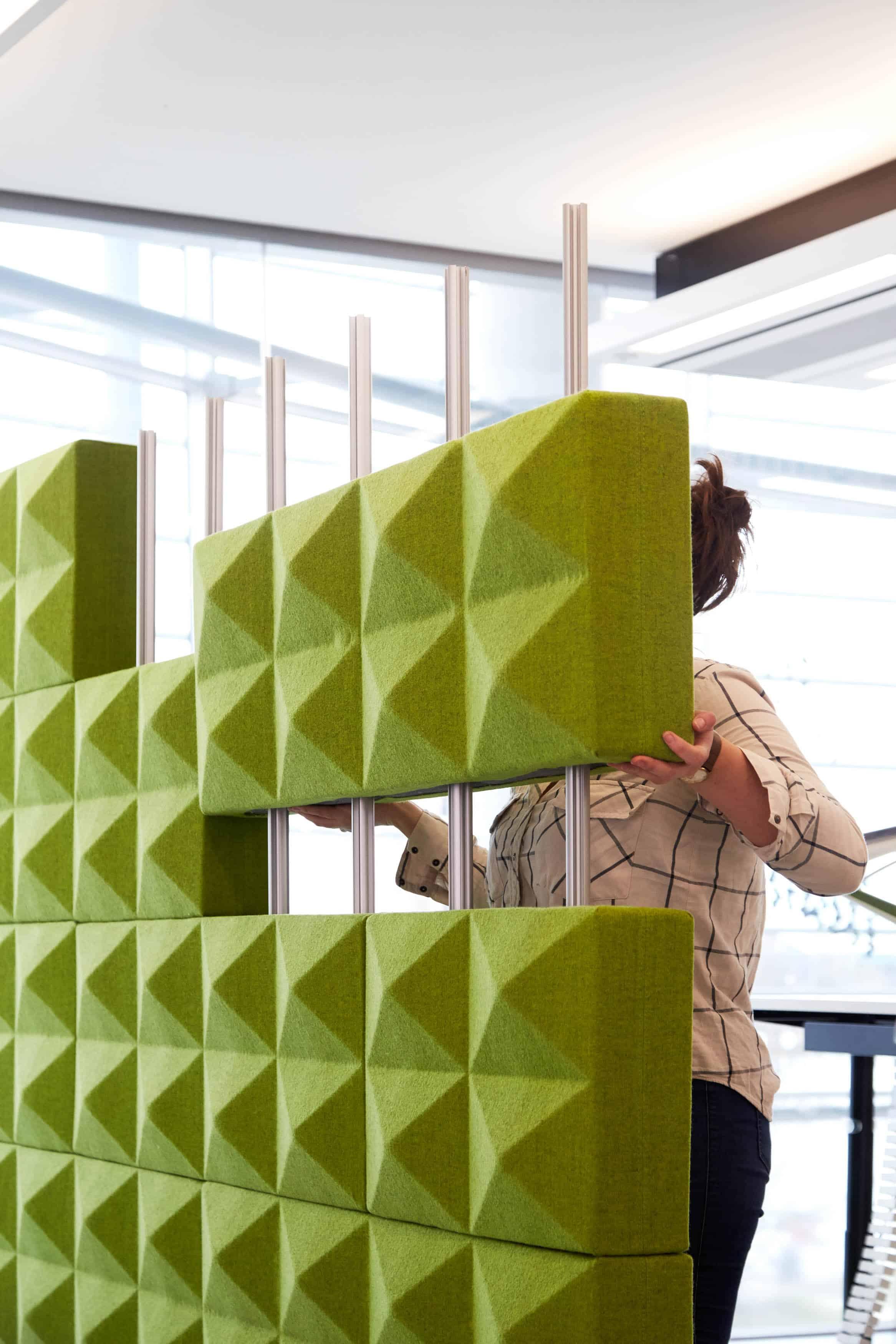 fourdesign fabricks systeme acoustique modulaire